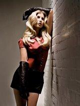 Modelka po halloween