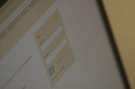 screen strony www z logowaniem