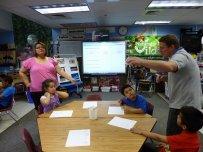 nauka języków, grupa uczniów